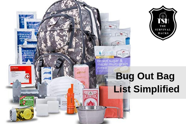 Bug Out Bag List Made Simple– Essential Items You Need to
